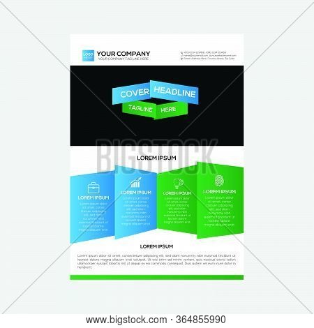 Flyer Design Corporate Business Strategy