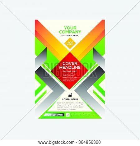 Modern Stylish Business Flyer Colorful Design