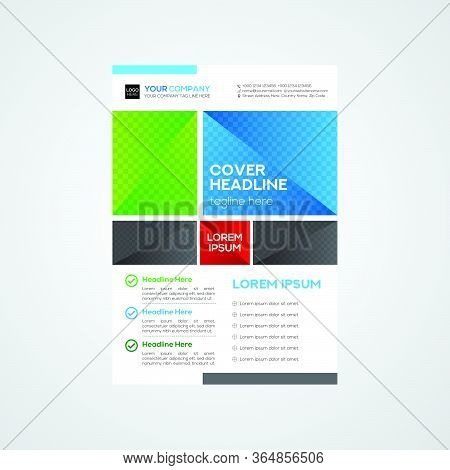 Real Estate Simple And Modern Flyer Design
