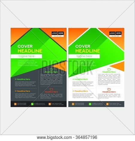 Simple And Clean Modern Business Flyer Design