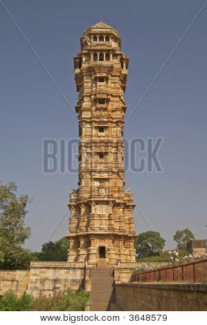 Ancient Hindu Victory Tower