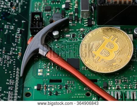 Bitcoin Virtual Cryptocurrency, Btc Pickaxe Cryptocurrency Mining