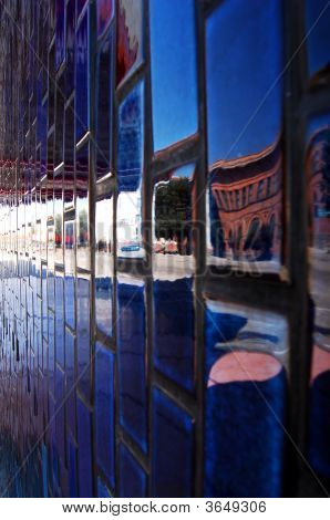 Blue City Wall