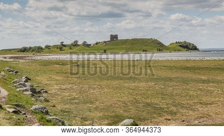Kalo Castle (kalø Slot) Is A Historic Ruined Castle Located In Eastern Jutland, Djursland, Denmark.