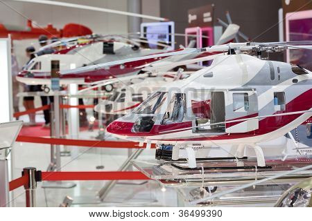 Three miniature helicopter