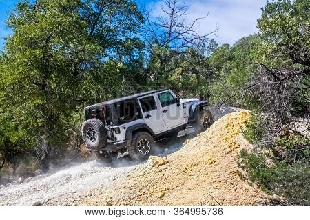 The Famous Off-road Jeep Vehicle In Benson, Arizona