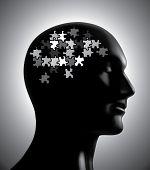Brainstorm puzzle concept:raster version poster