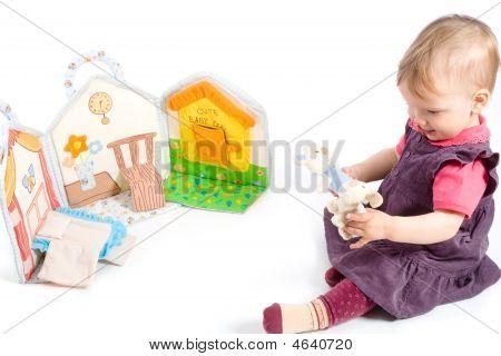 Mädchen spielen