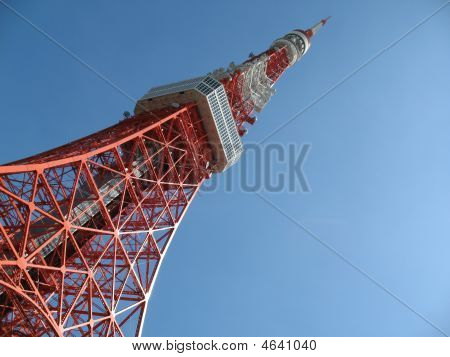 Tokyo Tower With Copyspace