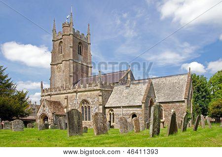 Saint James church at Avebury, England