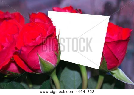 Roses And A Card