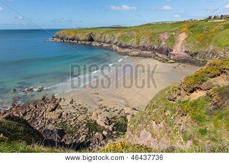Caerfai Bay Pembrokeshire West Wales UK near St Davids
