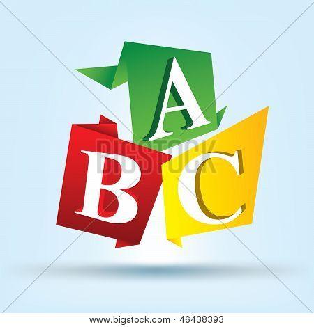 Alphabet A, B, C,