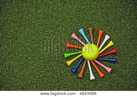 Golf Tee Spiral