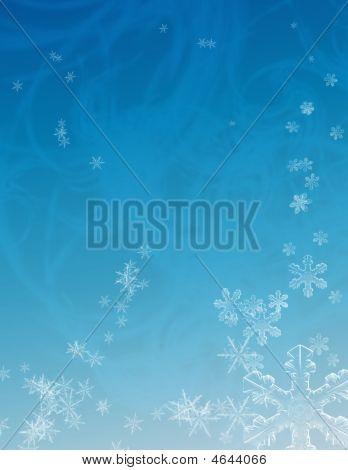 Winter Snow Flurry