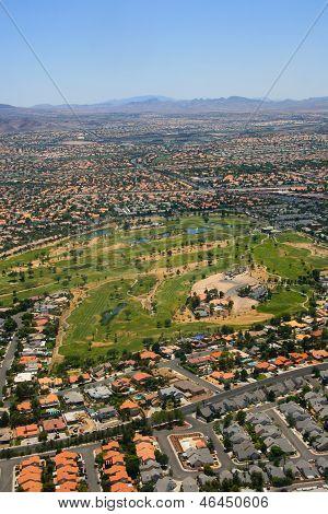 Aerial Las Vegas