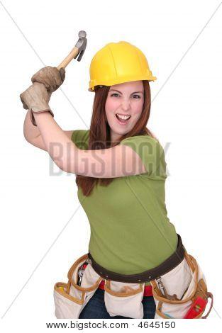 Bau Arbeitnehmer weiblich