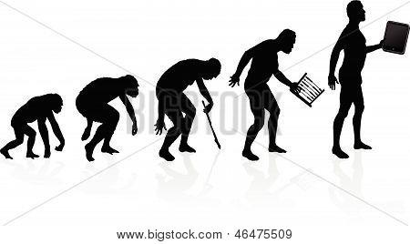 Evolución del hombre y la tecnología