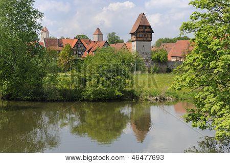 historic city Dinkelsbuehl