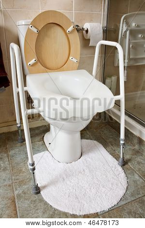 Adjustable Height Toilet Seat