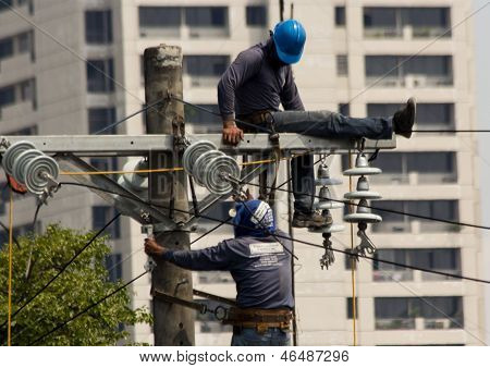 High voltage electricity repair