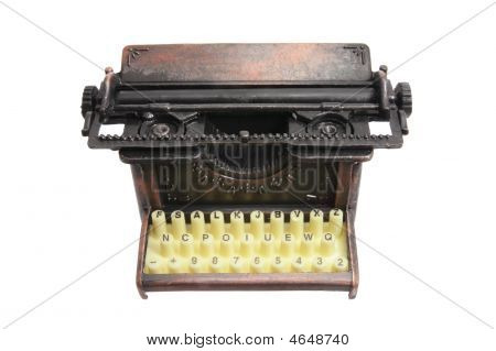 Old-fashioned Typewriter