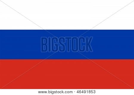 Flag Of Russia.