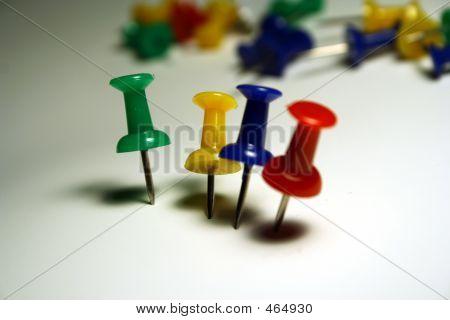 Standing Pushpins