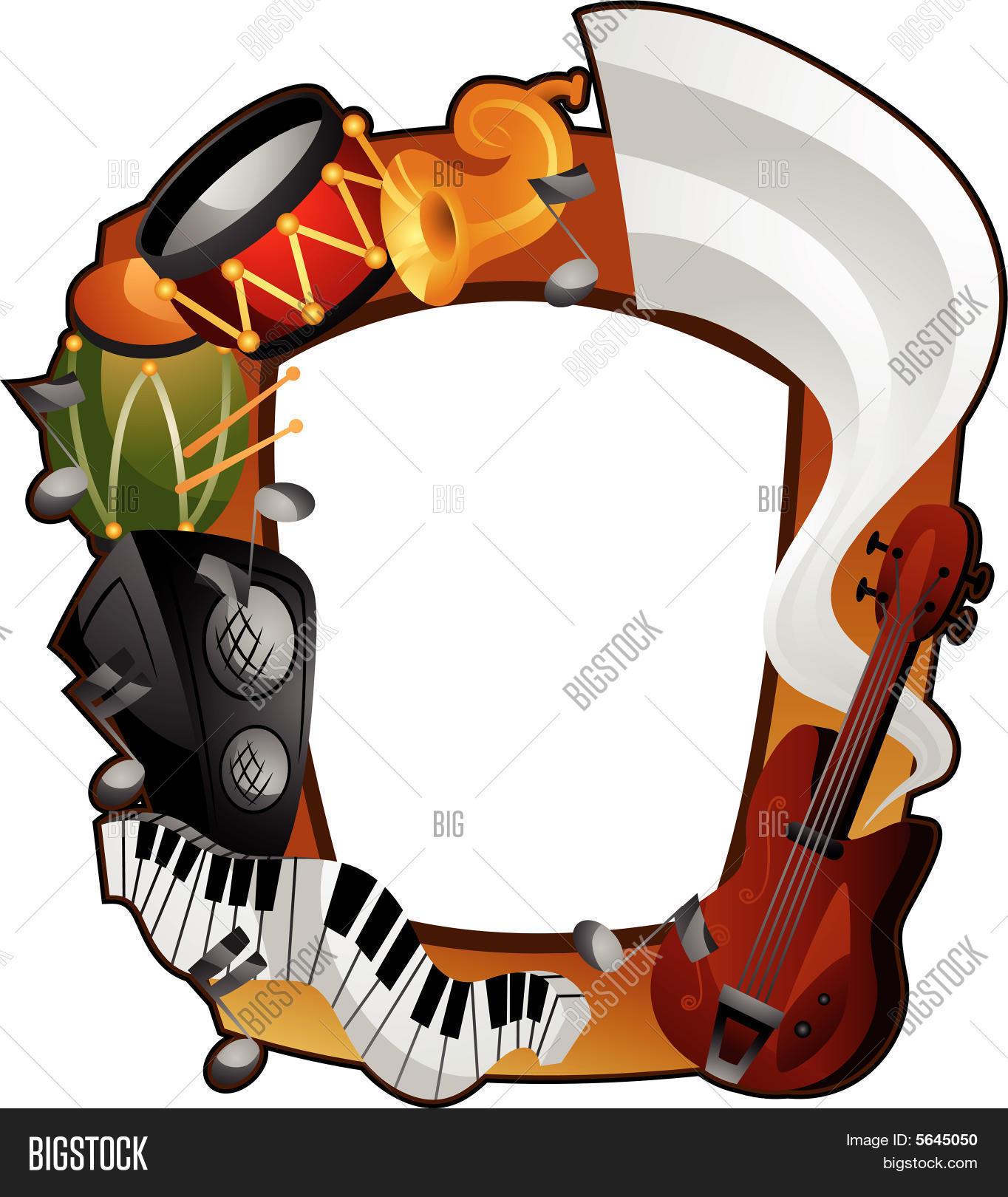 Music Frame Vector & Photo | Bigstock
