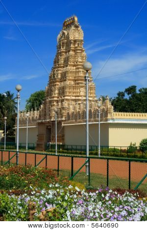 Hindu temple in Mysore palace