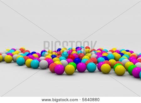 Shaded balls