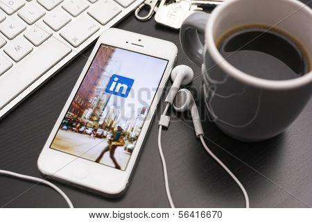 Linkedin online social network