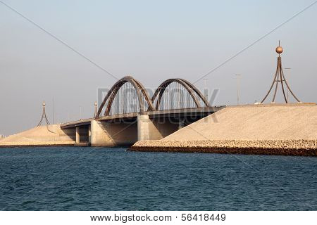 Bridge In Bahrain, Middle East