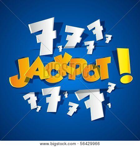 Creative Abstract Jackpot symbol