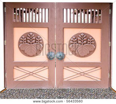 Oriental Style Entrance Door