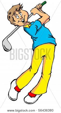 Big Golf Swing