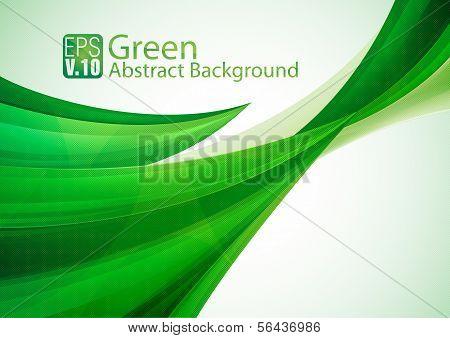 Fondo abstracto verde