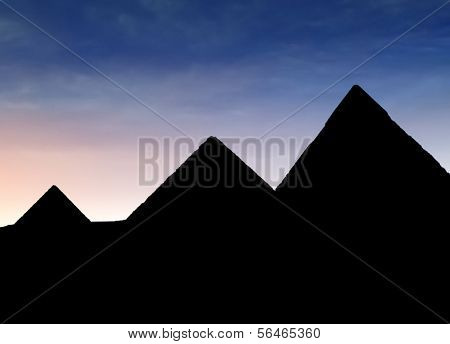 Pyramides of Gizeh - Cairo, Egypt