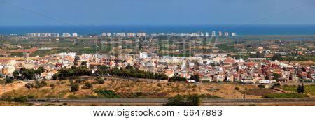 Panorama of Torreblanca