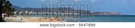 Scenic of Spanish beach