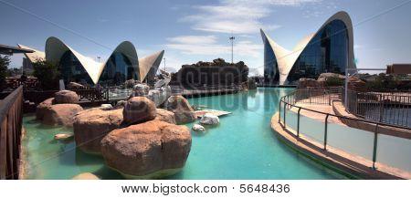 Oceanographic Of Valencia In Spain