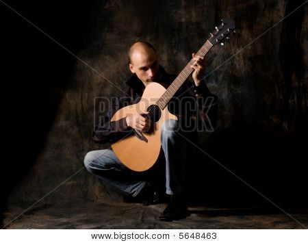 Man With Acoustic Guitar