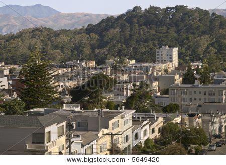 San Francisco Neighborhood and Park Hills