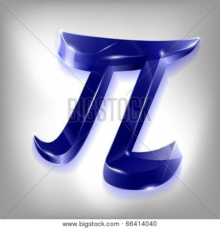 Letter Of The Greek Pi Alphabet