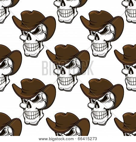 Skull in  pattern