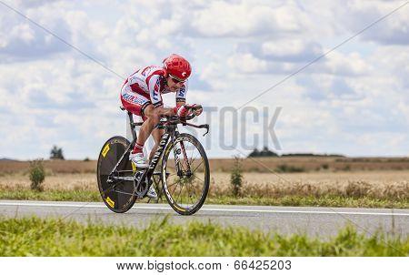 The Cyclist Yuri Trofimov