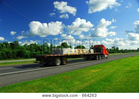 Truck Speed Road