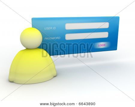 Login And Password Icon
