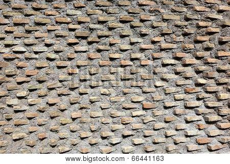 Old  brick wall, vintage background