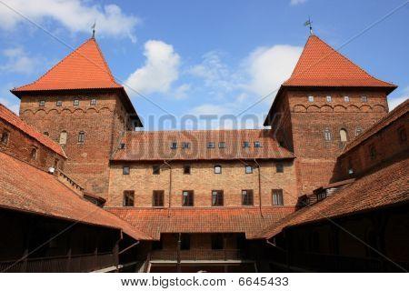 Castle in Nidzica